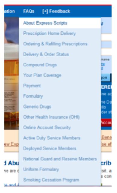 tricare pharmacy program express scripts com
